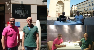 DE MESA EN MESA-Una joya en la Plaza del Mercado de Logroño RESTAURANTE BORAGOS…